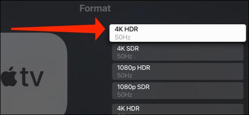 apple tv standard display resolution - نحوه تغییر رزولوشن نمایشگر در اپل تی وی
