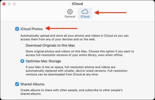 Disable iCloud Photos on Mac - نحوه غیرفعال سازی iCloud Photos روی مک