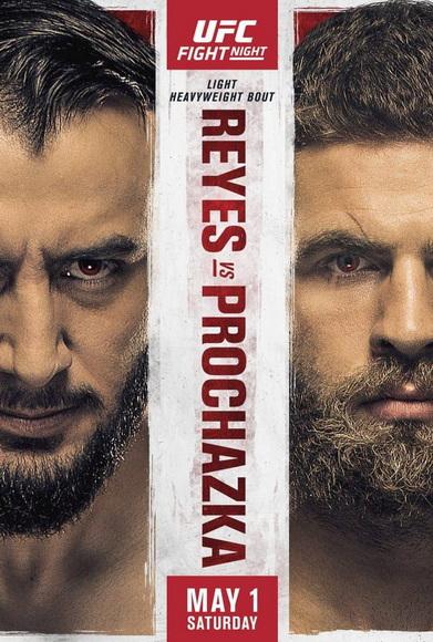 دانلود رویداد یو اف سی: UFC on ESPN 23 : Reyes vs. Procházka