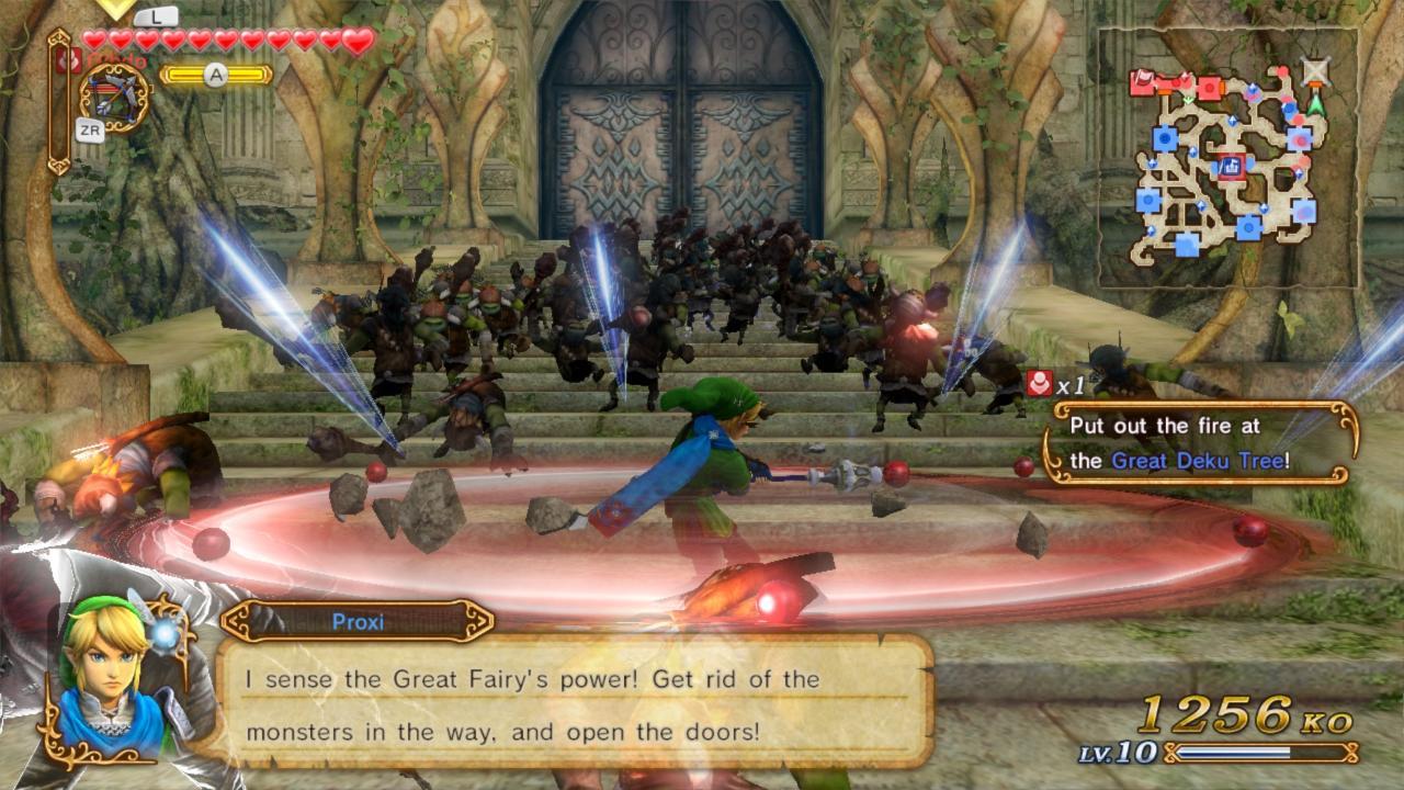 گیم پلی بازی Hyrule Warriors برای کامپیوتر لینک