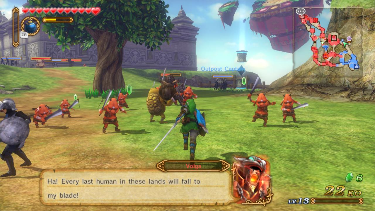 گیم پلی بازی Hyrule Warriors برای کامپیوتر