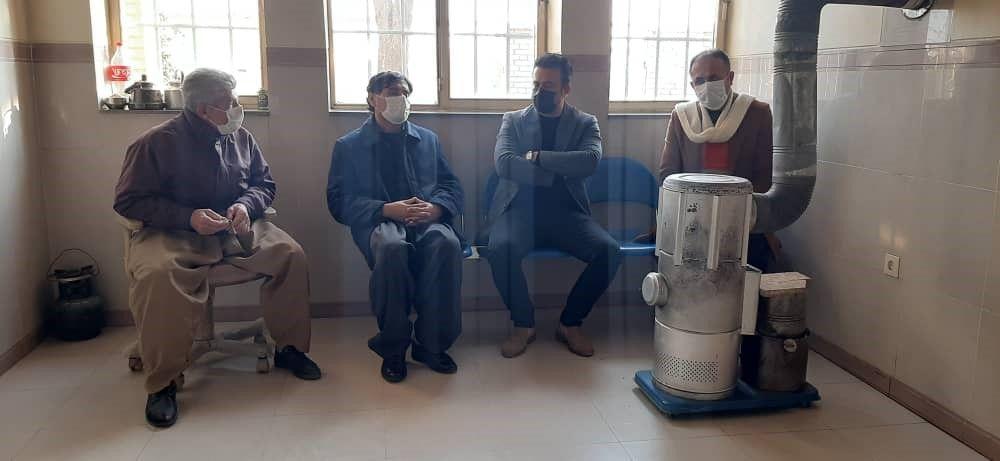 نشست با معتمدین محلی روستای گابازله روز 18/10/1399