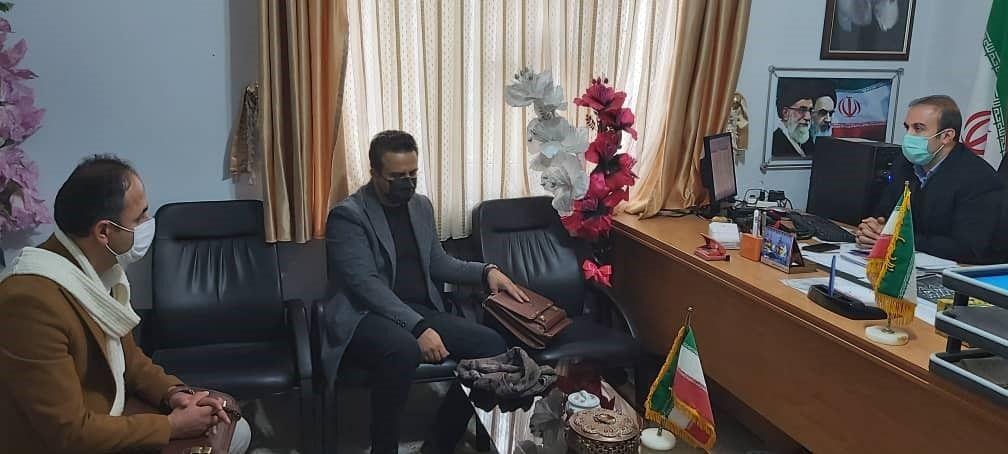 نشست با معاونت فرمانداری شهرستان مهاباد
