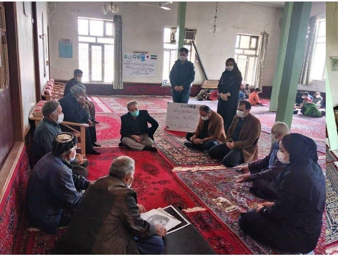 کارگاه ارتقاء آگاهی زیست محیط شرکت خاک پویا غرب در روستای گابازله 18/12/1399