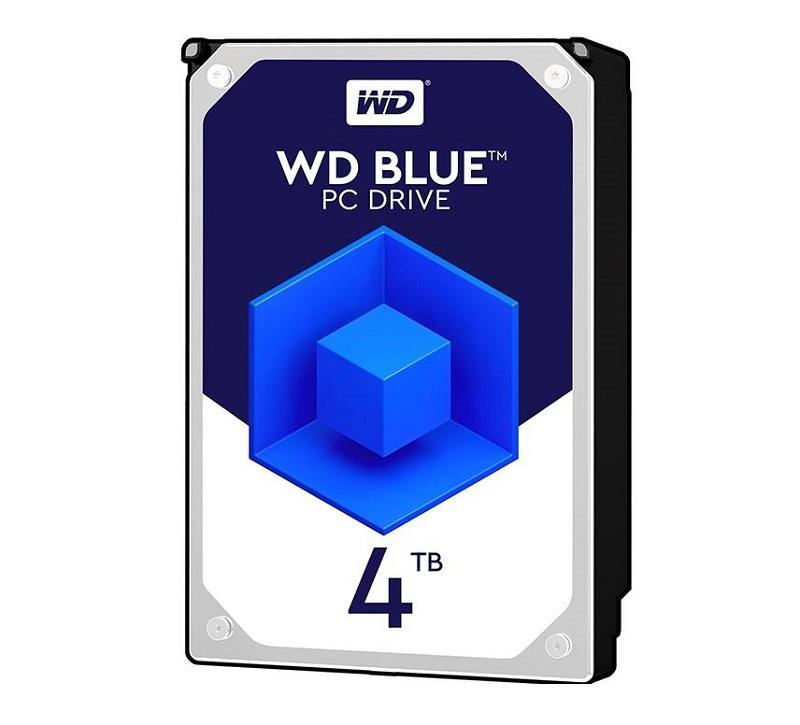 هارد دیسک اینترنال وسترن دیجیتال آبی ظرفیت 4 ترابایت WD40EZRZ