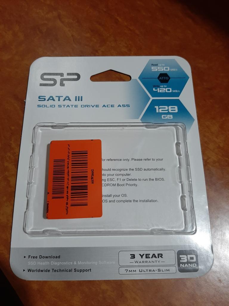 Silicon Power A55 SSD Drive 128GB