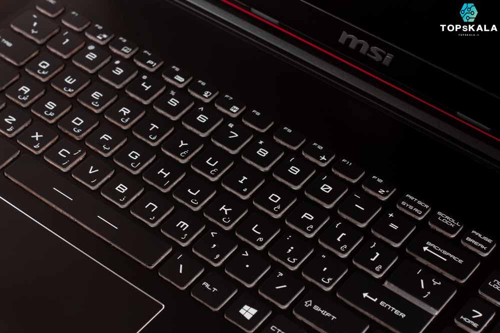 لپ تاپ استوک ام اس آی مدل MSI GP62 7RD