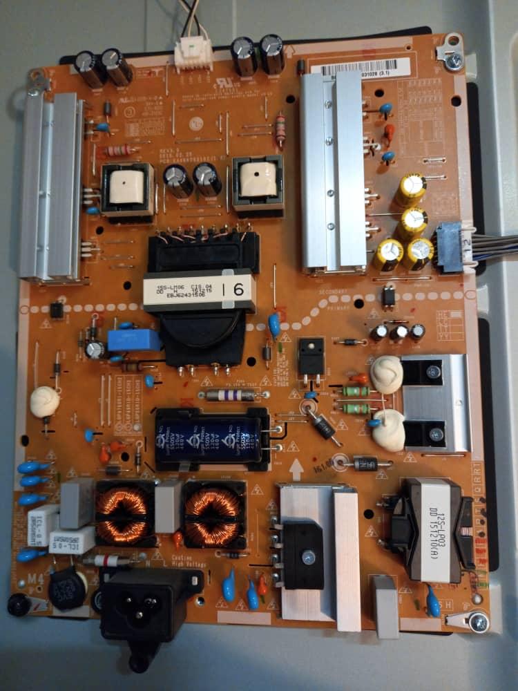 فروش اینترنتی برد تغذیه تلویزیون ال ای دی ال جی مدل 55LF631V