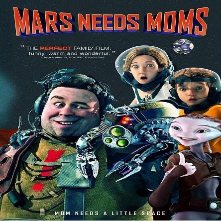 انیمیشن مریخی ها مامان میخوان - Mars Needs Moms 2011