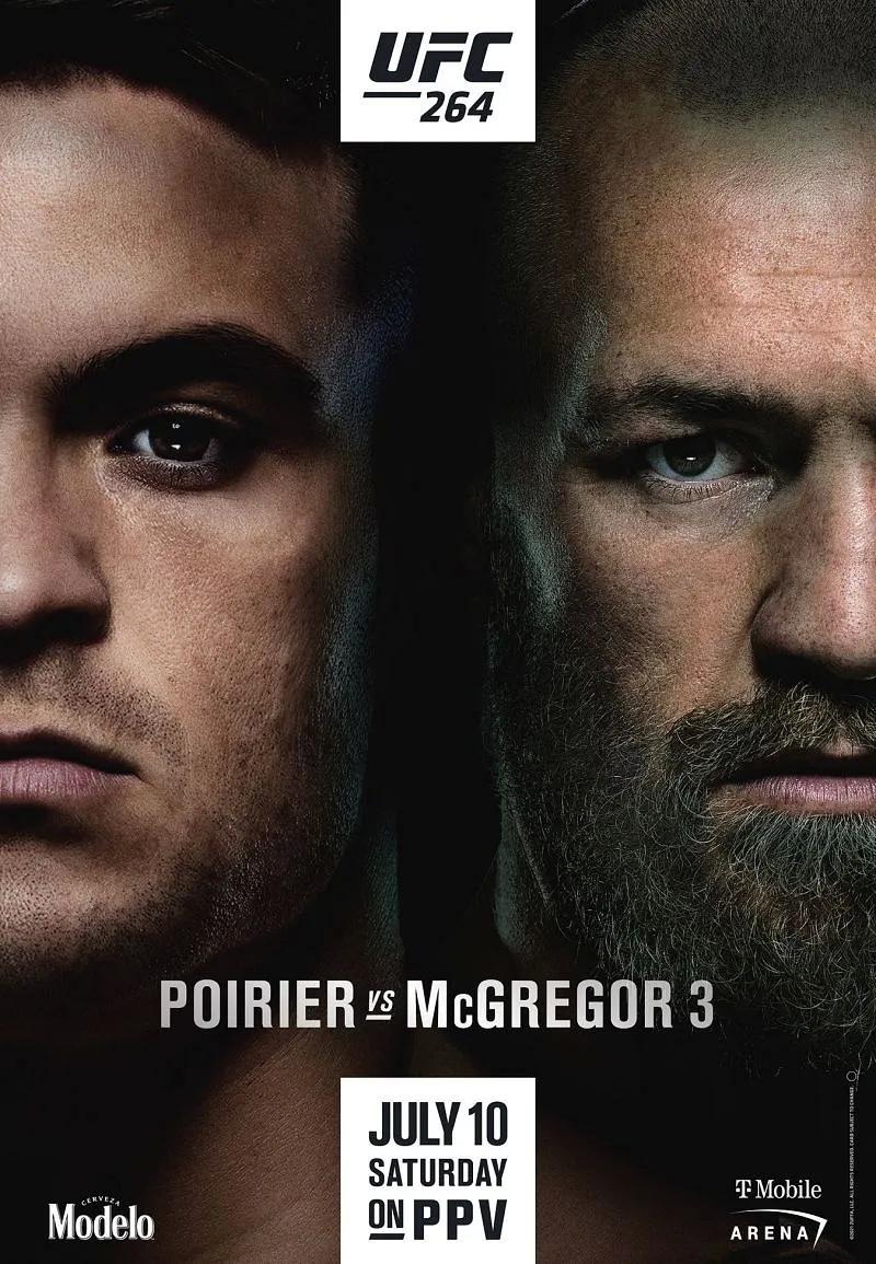 دانلود رویداد یو اف سی 264  : UFC 264: Poirier vs. McGregor 3-نسخه ی 1080 اضافه شد.