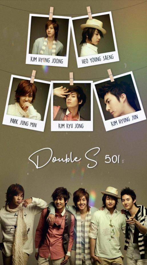 Ss501, ss501 members, kim hyun joong, ss501 wallpaper