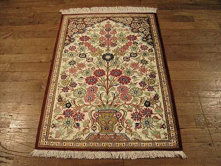 همه چیز درباره فرش قم qom carpets designs