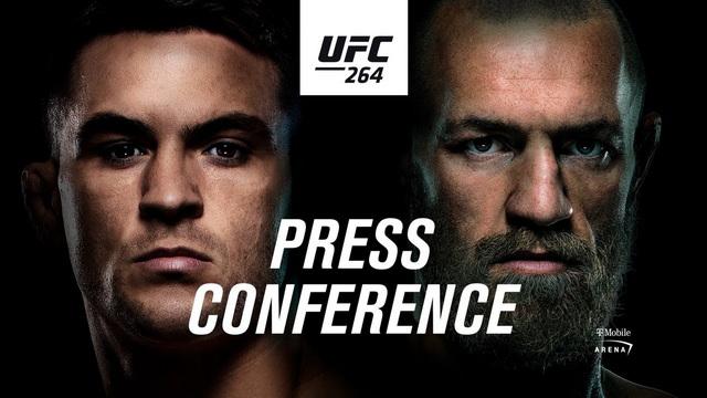 کنفرانس خبری قبل از   رویداد یو اف سی   264  | UFC 264: Pre-fight Press Conference