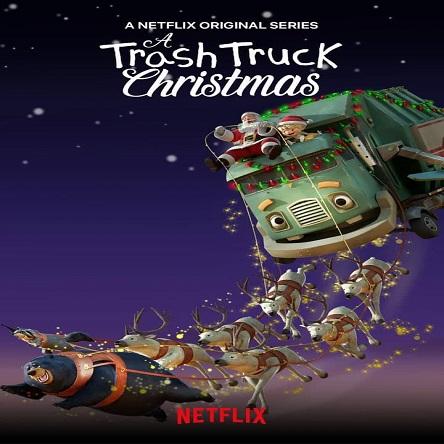 انیمیشن کریسمس یک کامیون زباله - A Trash Truck Christmas 2020
