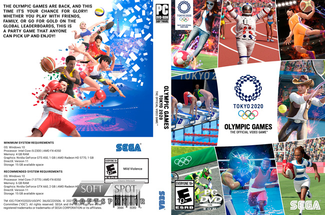 Olympic Games Tokyo 2020 Cover