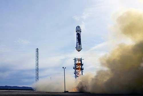 علت انصراف مسافر ۲۸میلیون دلاری فضاپیمای نیوشپرد چیست؟