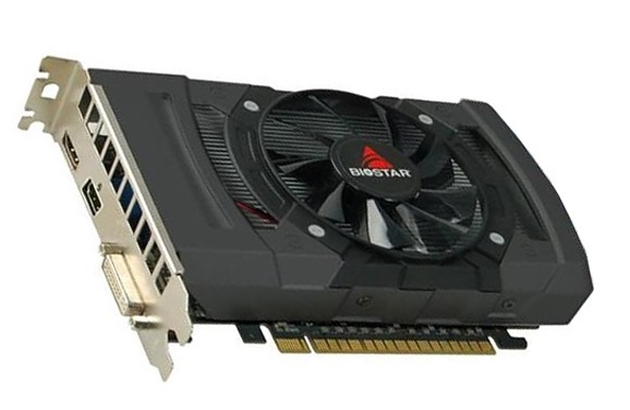 کارت گرافیک بایوستار Radeon RX550 ظرفیت 4 گیگابایت