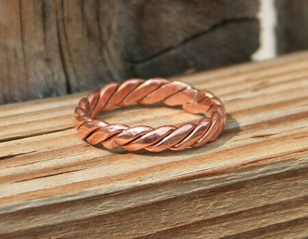 جدیدترین مدل های انگشتر مسی copper ring