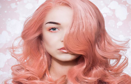 فرمول انواع رنگ موی مرجانی Coral hair color