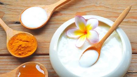 ماسک شیر خشک برای چاقی و سفیدی صورت milk facemask