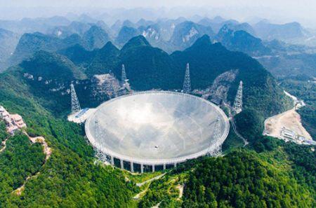 تلسکوپ بزرگ چین چشم آسمان Sky Eye در اختیار دانشمندان جهان
