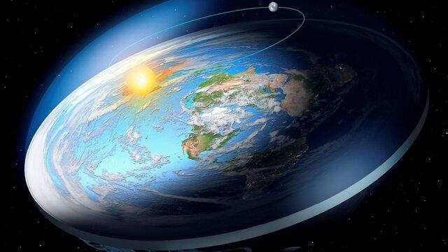 نظریه و زندگی بر روی زمین مسطح Flat Earth