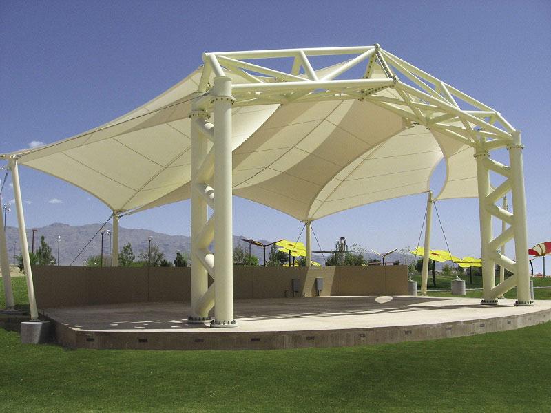 سازه پارچه ای چیست؟ fabric structure
