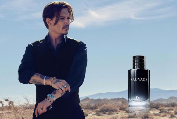 جانی دپ برنده عطر دیور شد Dior perfume