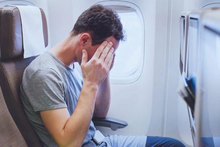 استرس و ناراحتی در هنگام پرواز Flight stress