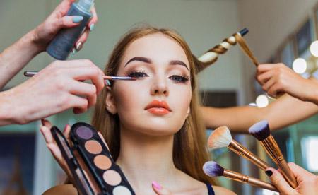 آموزش ماکیاژ یا گریم صورت makeup training