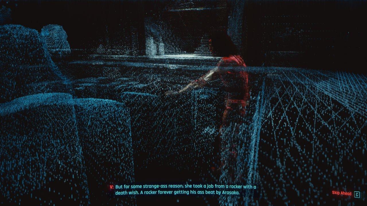 فضای ماتریکس در بازی سایبرپانک 2077