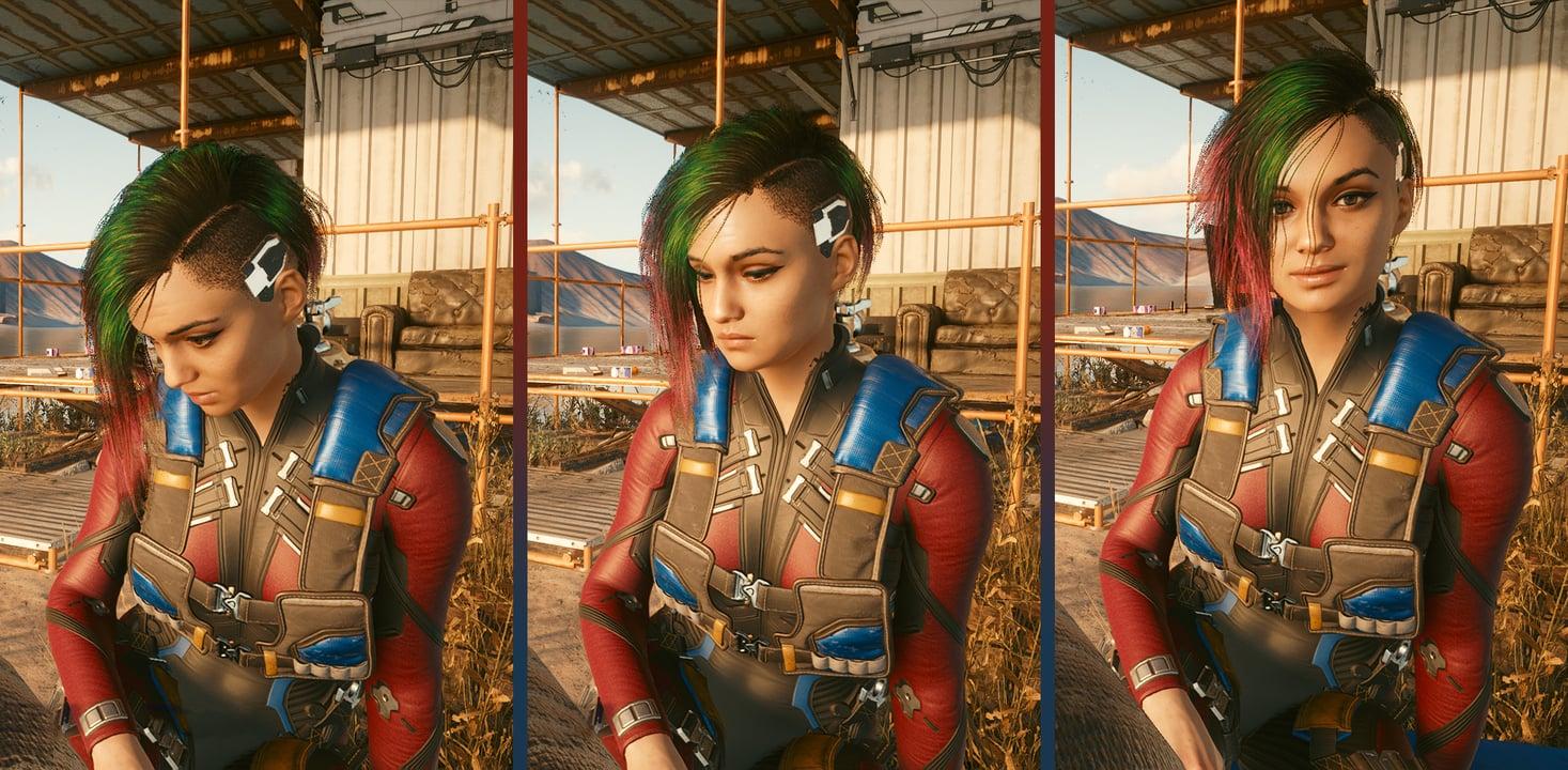 Cyberpunk 2077 Judy Alvarez Facial Expression motion capture