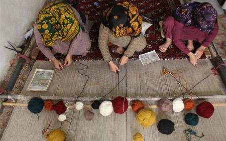 انواع صنایع دستی ترکمن handicrafts