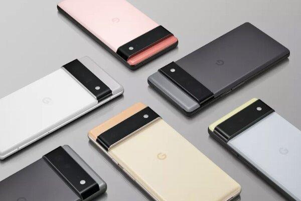 ساخت موبایل پیسکل 6 و پیکسل 6 پرو با پردازشگر گوگل