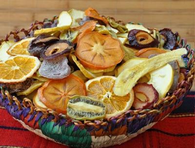 خشک کردن میوه dried fruit