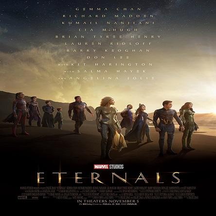 فیلم جاودانگان - Eternals 2021