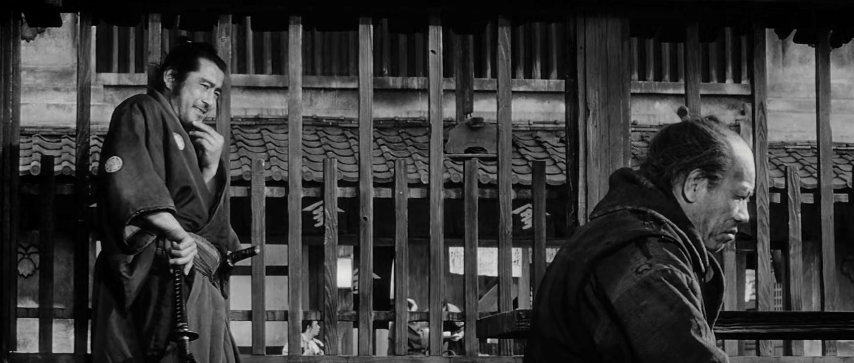 توشیرو میفونه در فیلم سینمایی یوجیمبو کوروساوا
