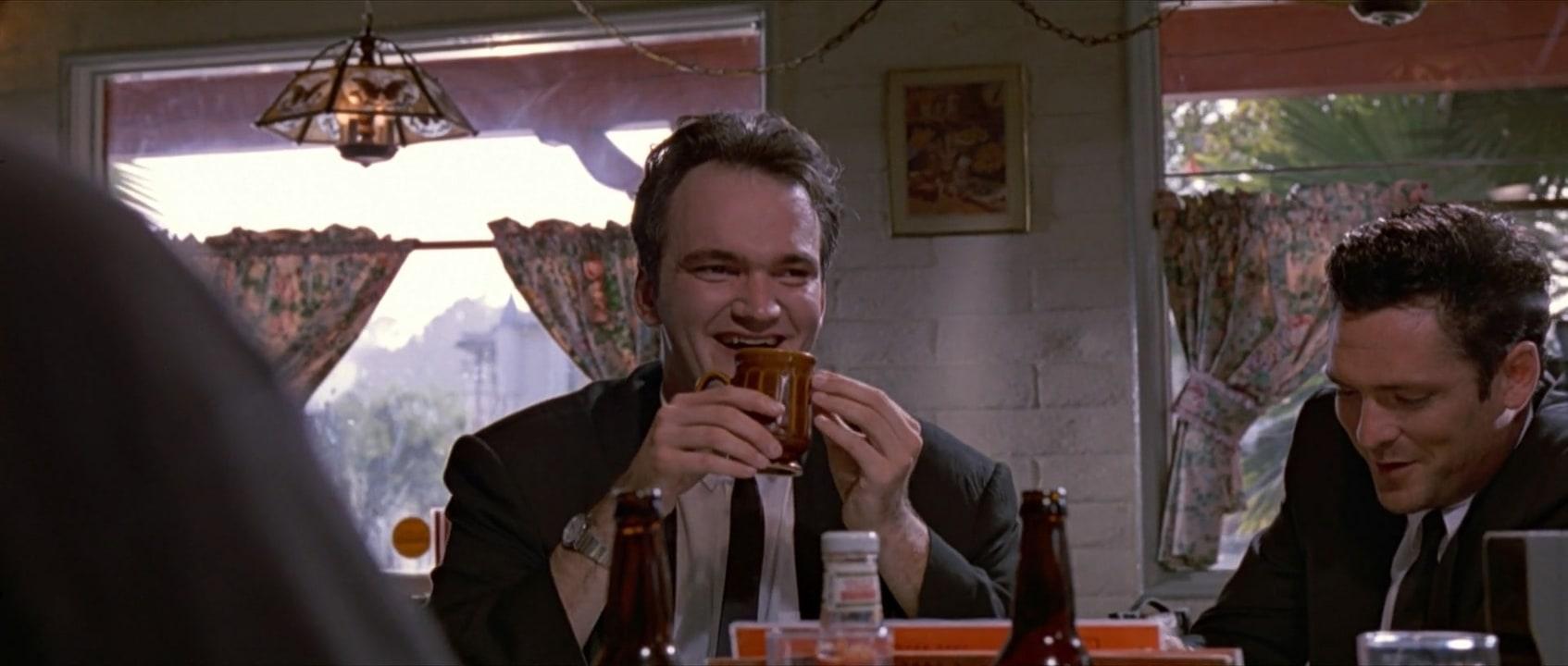 کوئنتین تارانتینو در فیلم سینمایی Reservoir Dogs