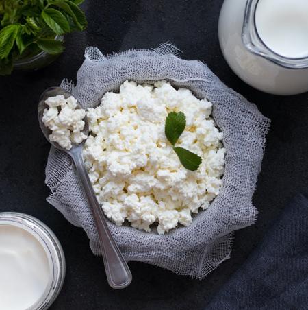 آموزش تهیه پنیر کوتاژ یا کاتیج Cottage cheese