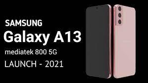محصول جدید سامسونگ گوشی گلکسی A13 5G است