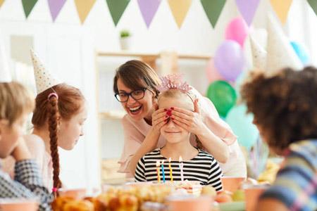 ایده برای سورپرایز تولد کودکان ideas children s birthday
