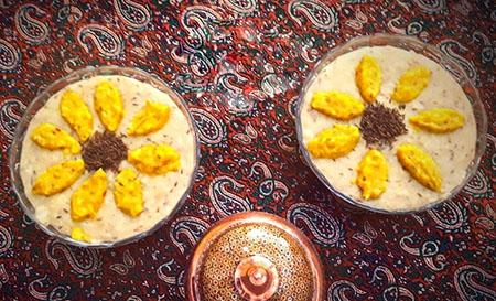 دستور پخت شله بریان زیره غذای سنتی و خوشمزه اصفهانی cumin roast shole