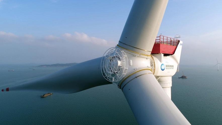 ساخت بزرگترین توربین دریایی بادی جهان در چین(عکس)