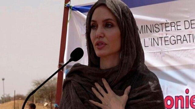 نگرانی آنجلینا جولی از وضعیت زنان و دختران افغانستان