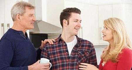 راه حل های وابستگی به والدین در بزرگسالی dependence parents