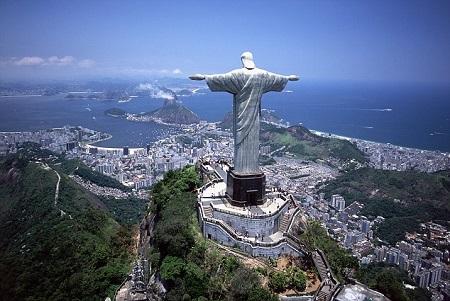 تندیس مسیح در برزیل بزرگ ترین مجسمه مذهبی جهان statue christ