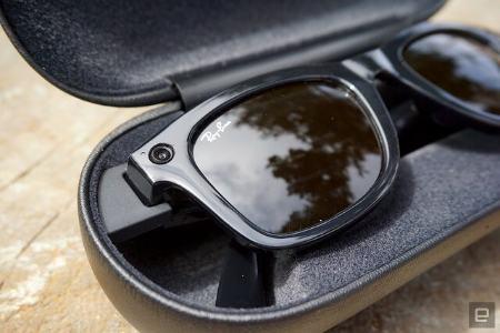 عینک هوشمند فیس بوک ری بن Facebook glasses Ray Ben