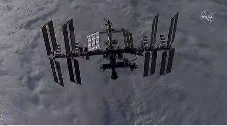 دود در ایستگاه فضایی بین المللی Smoke on the ISS