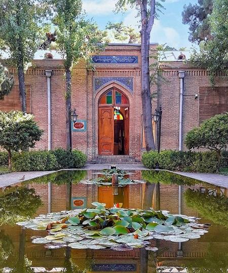 باغ نگارستان تهران bagh negarestan