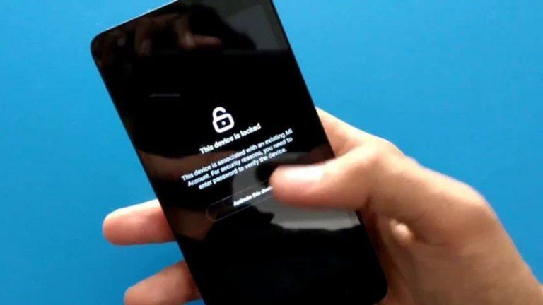 قفل شدن اکانت شیائومی Xiaomi